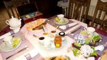 Table de petit-déjeuner